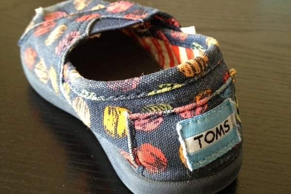 Tiny Toms Shoes