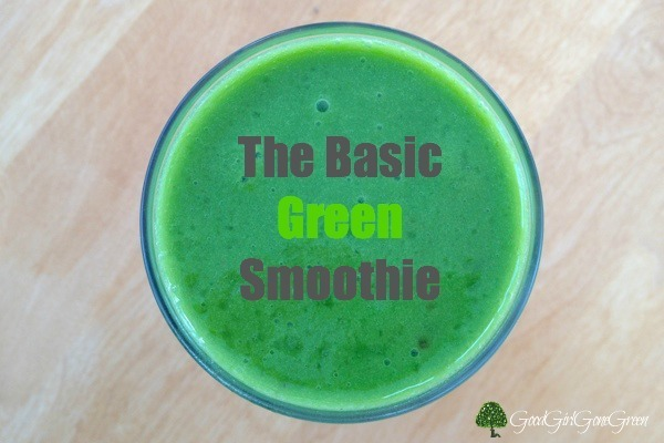 The Basic Green Smoothie #organic #health