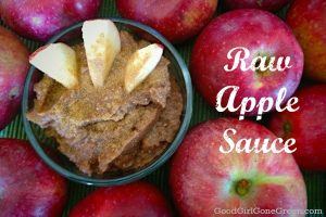 Raw Vegan Apple Sauce