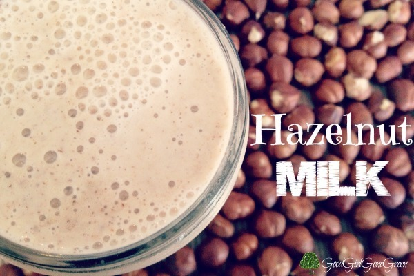 Hazelnut Milk #organic #plantbased