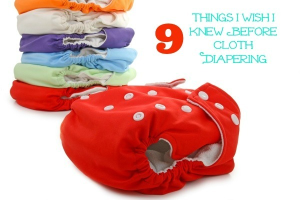 9 Things I WIsh I Knew Before Cloth Diapering #organic #reusable #ecofriendly #cloth