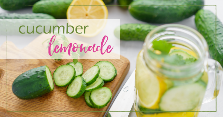 Cucumber lemonade is really quite simple to prepare and will add a little jump in your step when consumed. Well, at least it did for me.