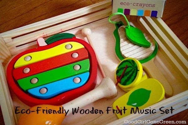 EkoBear.ca Eco-Friendly Music Fruit Set