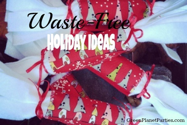 Wste-free Green holiday ideas Crackers