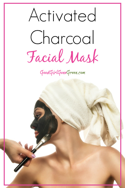 Activated Charcoal Facial Mask GoodGirlGoneGreen.com