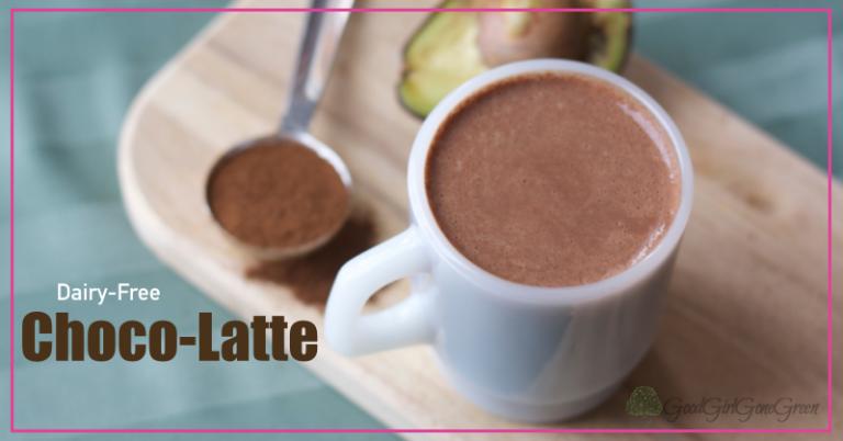 Dairy-Free Choco-Latte GoodGirlGoneGreen.com