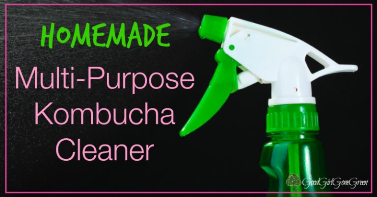 Multi-Purpose Kombucha Cleaner GoodGirlGoneGreen.com