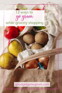 The Green Grocery Bag - GoodGirlGoneGreen
