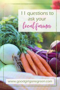 ask your local farmer GoodGirlGoneGreen