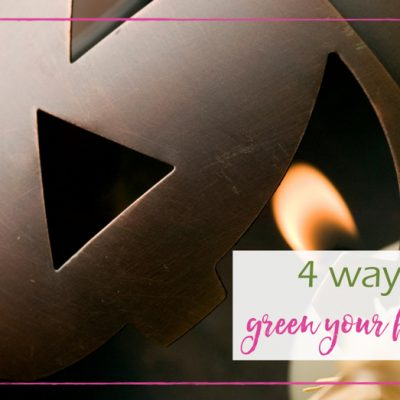 4 Ways to Green Your Halloween