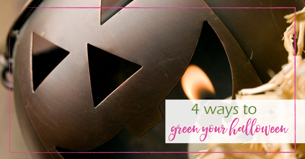 4 Ways to Green Your Halloween - GoodGirlGoneGreen