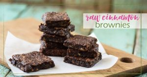 Raw Cinnamon Brownies goodgirlgonegreen