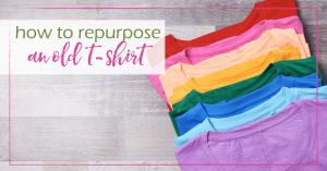 repurpose old tshirt GoodGirlGoneGreen