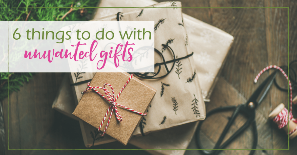 unwanted gifts GoodGirlGoneGreen