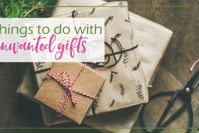 unwanted gifts GoodGirlGoneGreen
