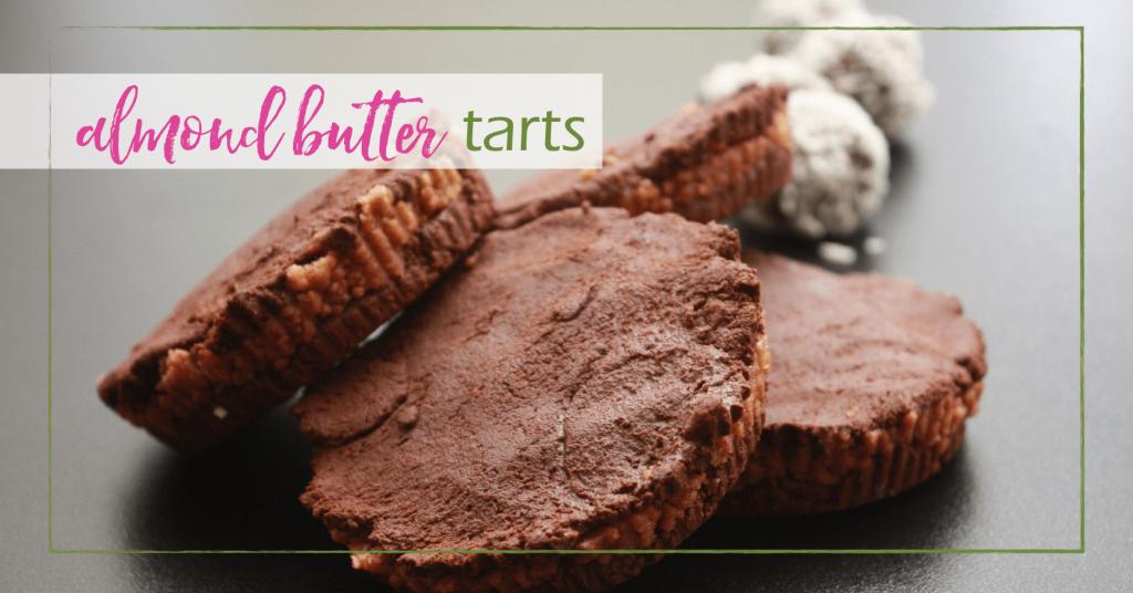 almond butter tarts