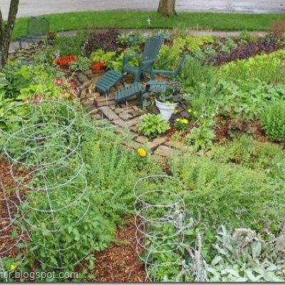 Planting a Sustainable Front Lawn Veggie Garden