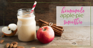 Apple Pie Smoothie - Good Girl Gone Green