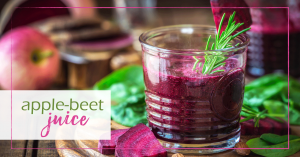 Apple and Beetroot Juice - Good Girl Gone Green