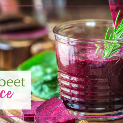 Apple and Beetroot Juice