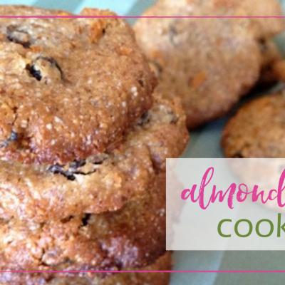 Almond Raisin Cookies
