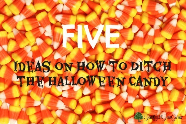 5 Ideas on How to Ditch the #Halloween Candy #safe #