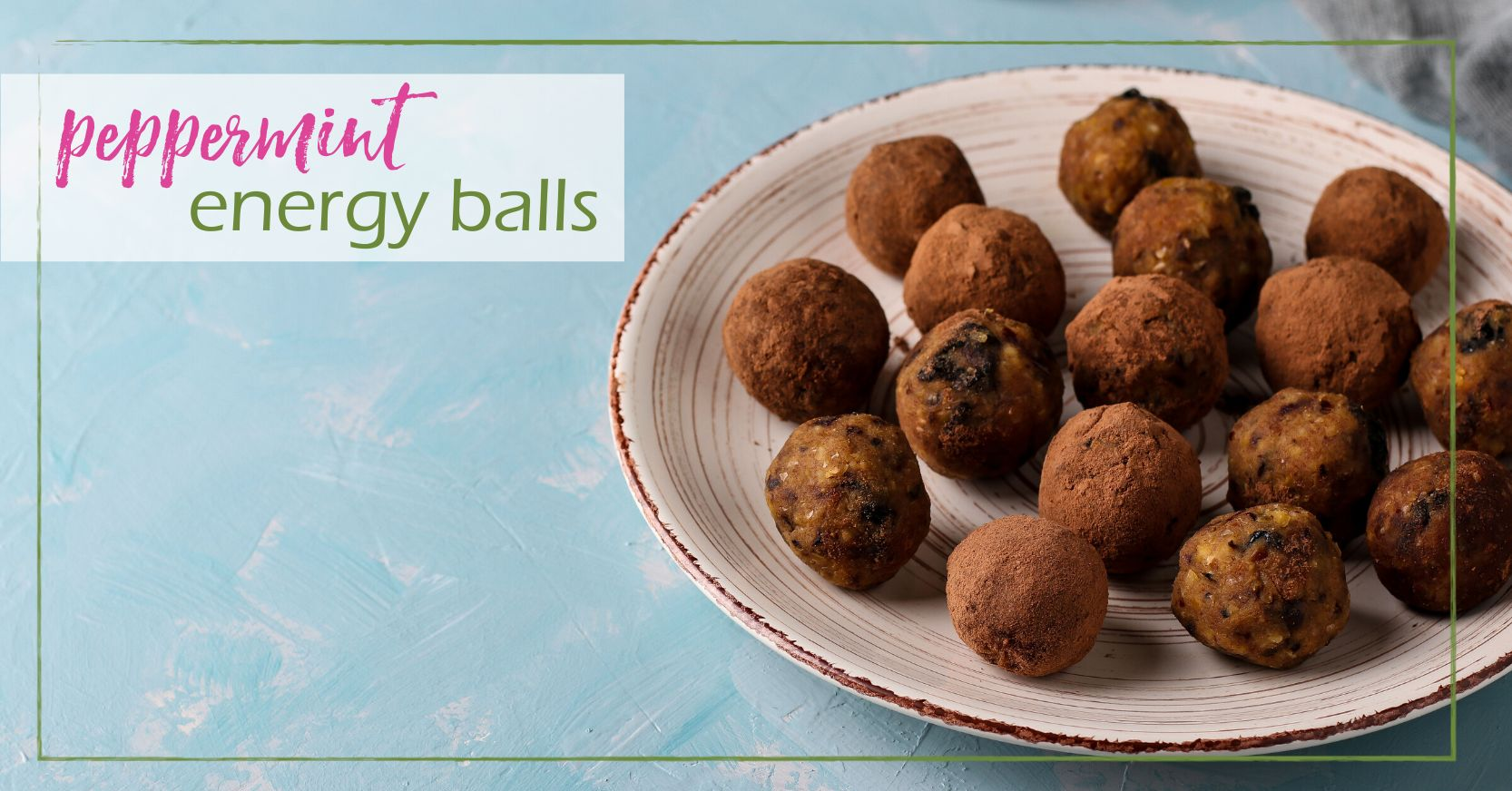 Peppermint Energy Balls goodgirlgonegreen