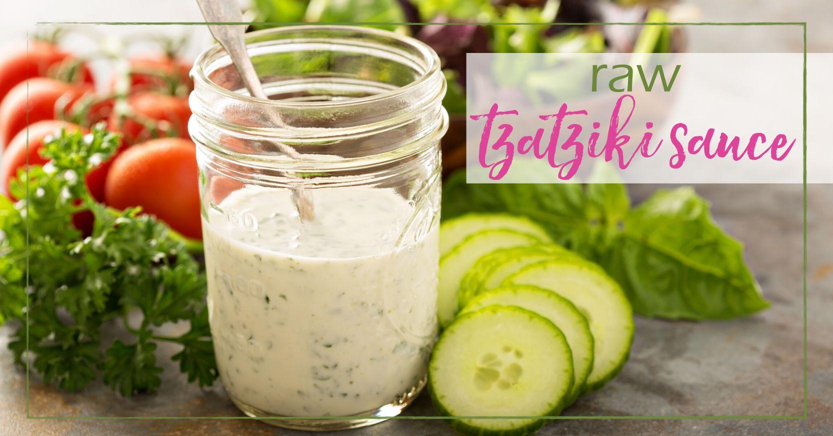 Raw Tzatziki Sauce goodgirlgonegreen