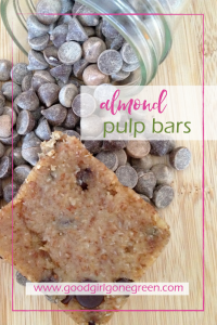 Other almond pulp recipes: Almond Flour from the Rising Spoon Raw Pumpkin Bread from Small Footprint Family