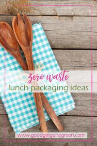 Zero Waste Lunch Packaging Ideas   GoodGirlGoneGreen.com