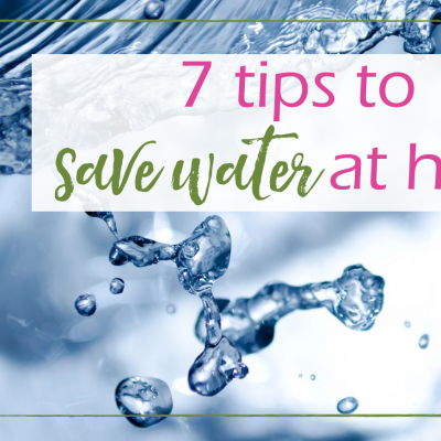 Tips to Save Water at Home