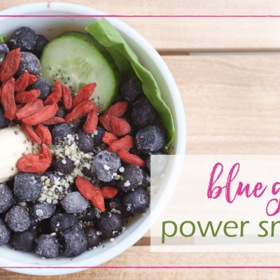 Blue Green Power Smoothie