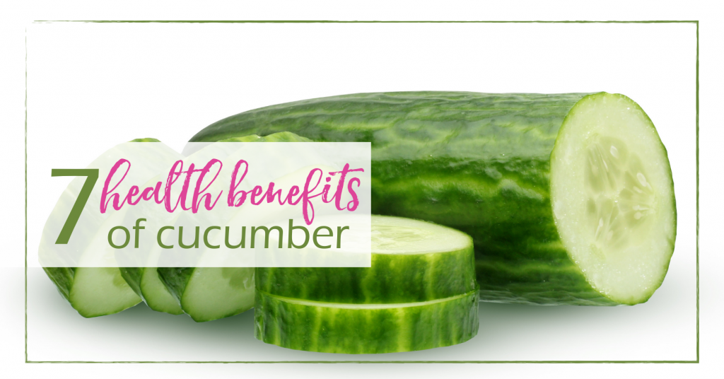 Health Benefits of Cucumbers | GoodGirlGoneGreen