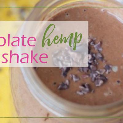 Chocolate Hemp Shake