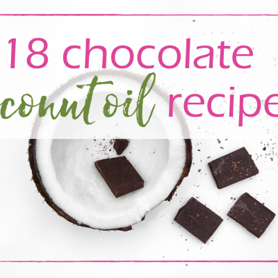 Coconut Oil Chocolate Recipes