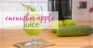 Cucumber Apple Juice - Good Girl Gone Green