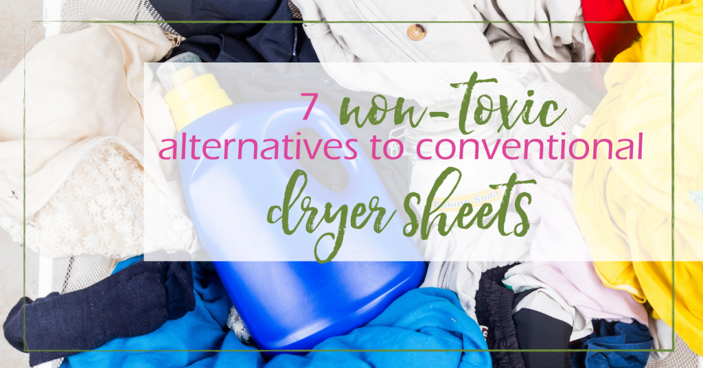 Dryer Sheets Alternatives - 7 Non-Toxic Options | GoodGirlGoneGreen.com