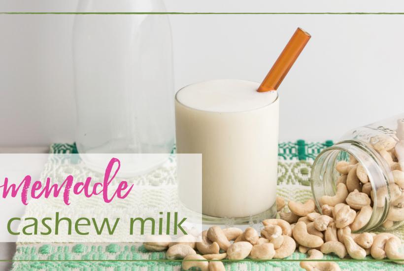 Homemade Cashew Milk | GoodGirlGoneGreen.com