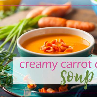 Creamy Carrot Quinoa Soup