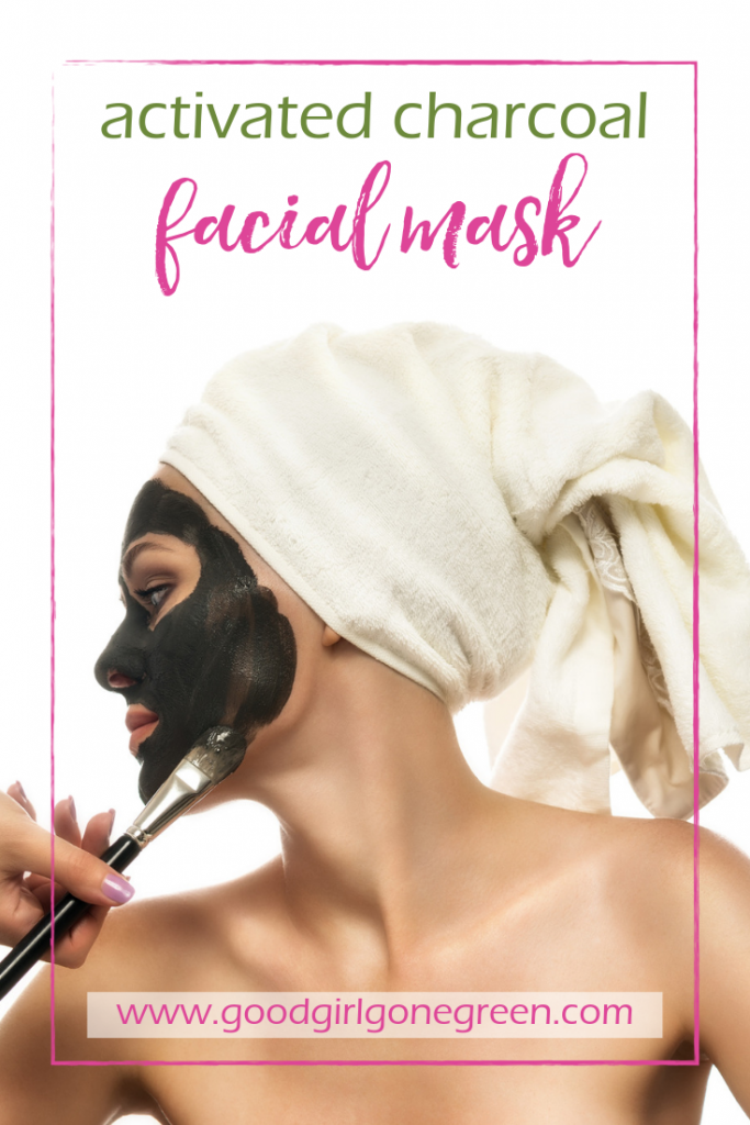 Activated Charcoal Facial Mask | GoodGirlGoneGreen.com
