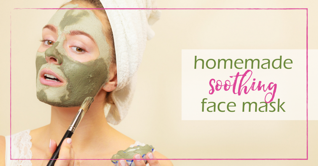 Soothing Face Mask | GoodGirlGoneGreen.com