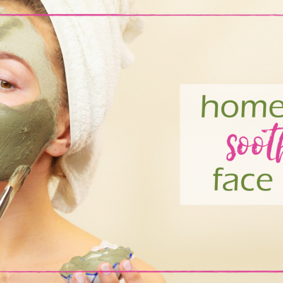 DIY Soothing Face Mask