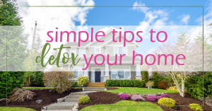 Detox Your Home - 5 Simple Tips | GoodGirlGoneGreen.com