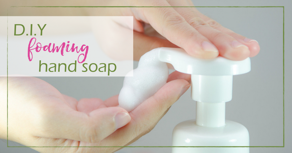 DIY Foaming Hand Soap | GoodGirlGoneGreen.com
