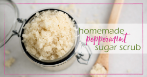 Sugar Scrub Recipe (Peppermint!) | GoodGirlGoneGreen.com