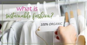 Sustainable Fashion | GoodGirlGoneGreen.com