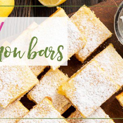Raw Lemon Pie Bar