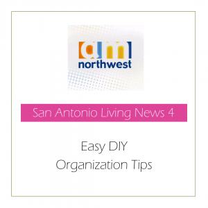 AM Northwest - Easy DY Organization Tips | Stephanie Moram - Good Girl Gone Green